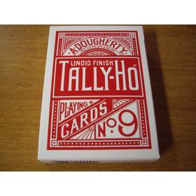 Cartas Tally-ho No.9 Playing Cards Original Fanback Magia