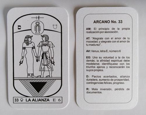 cartas tarot egipcio original