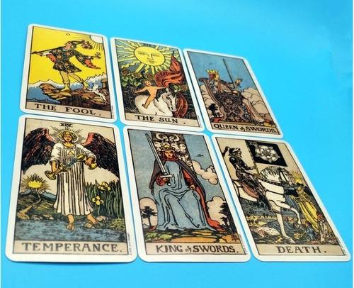 cartas tarot rider deck profesional 78 pzs + envio gratis