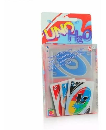 cartas uno h2o mattel juego de mesa niños juguete original