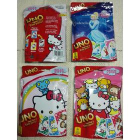 Cartas Uno Hello Kitty, Princesas  Orig. Mattel/9vrds