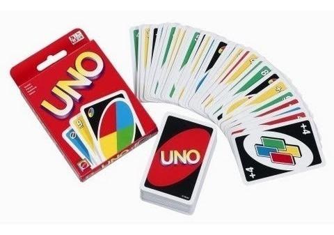cartas uno juego de mesa diversión adultos y niños