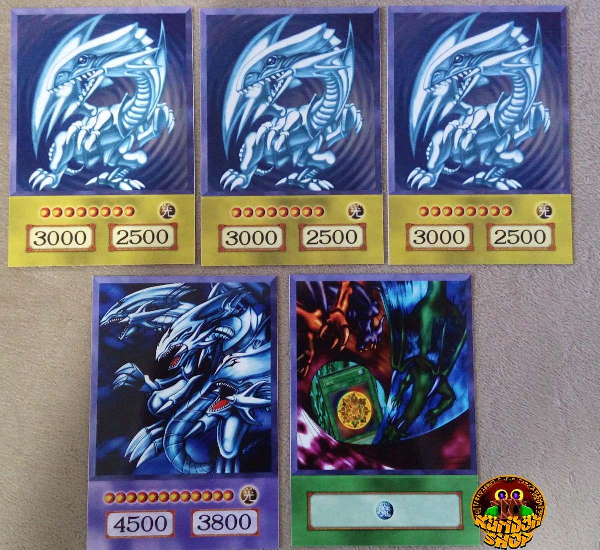 cartas yu gi oh 3 decks completos kaiba yugi pegasus r 150 00