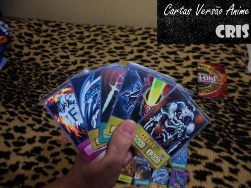 cartas yu-gi-oh versão anime - avulsas e decks prontos