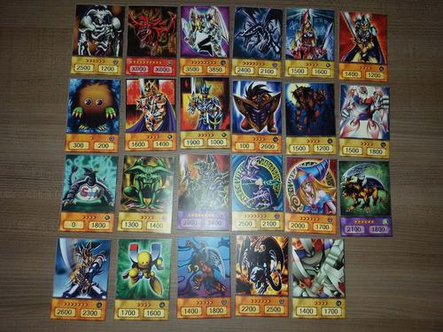 cartas yugioh versão anime