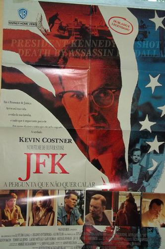 cartaz cinema jfk a pergunta que não quer calar kevin costne