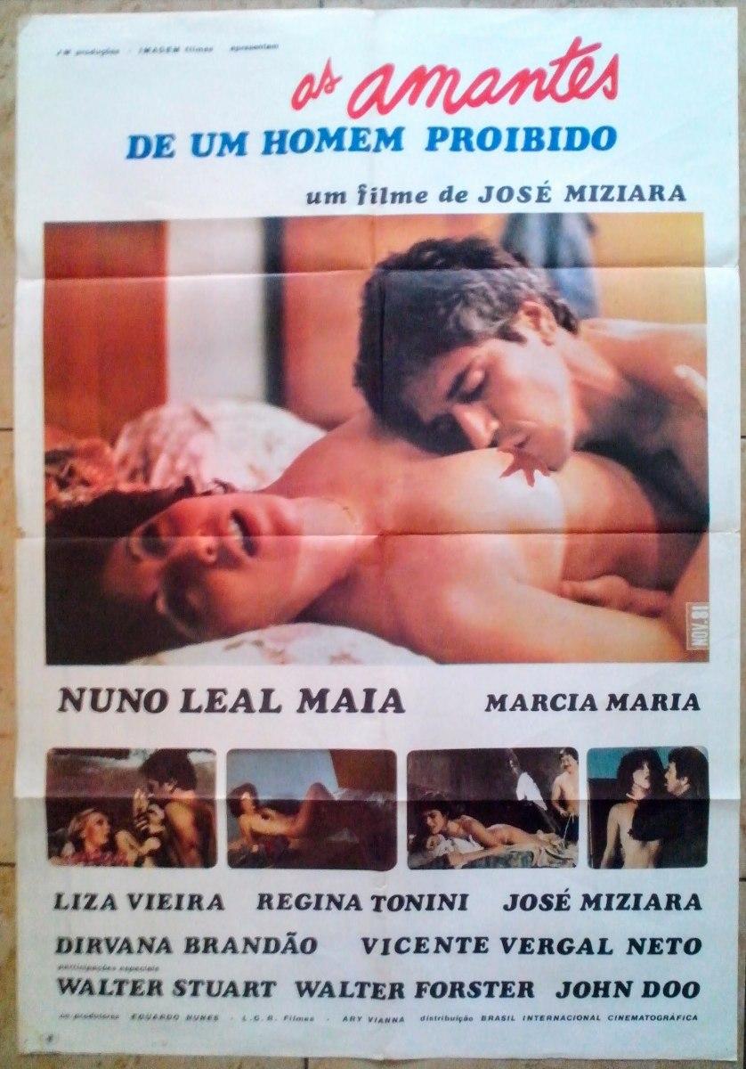 Cartaz Cinema Pornochanchada As Amantes De Um Homem Proibido - R ...