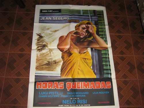 cartaz de cinema original horas queimadas europa filmes