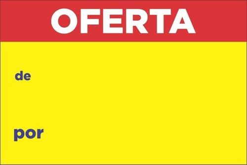 cartaz de oferta de/por(amarelo) pdv print 1500 un