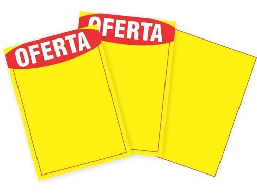 cartaz de ofertas e promoções 21,5 x 31,5cm 900 unidades