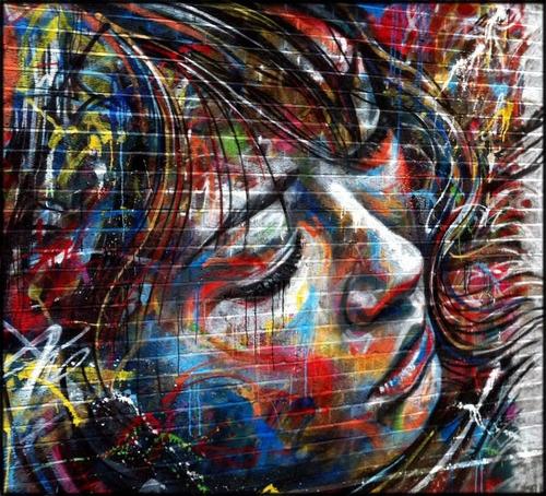 cartaz grafite 65x70cm street urbano arte para decorar sala