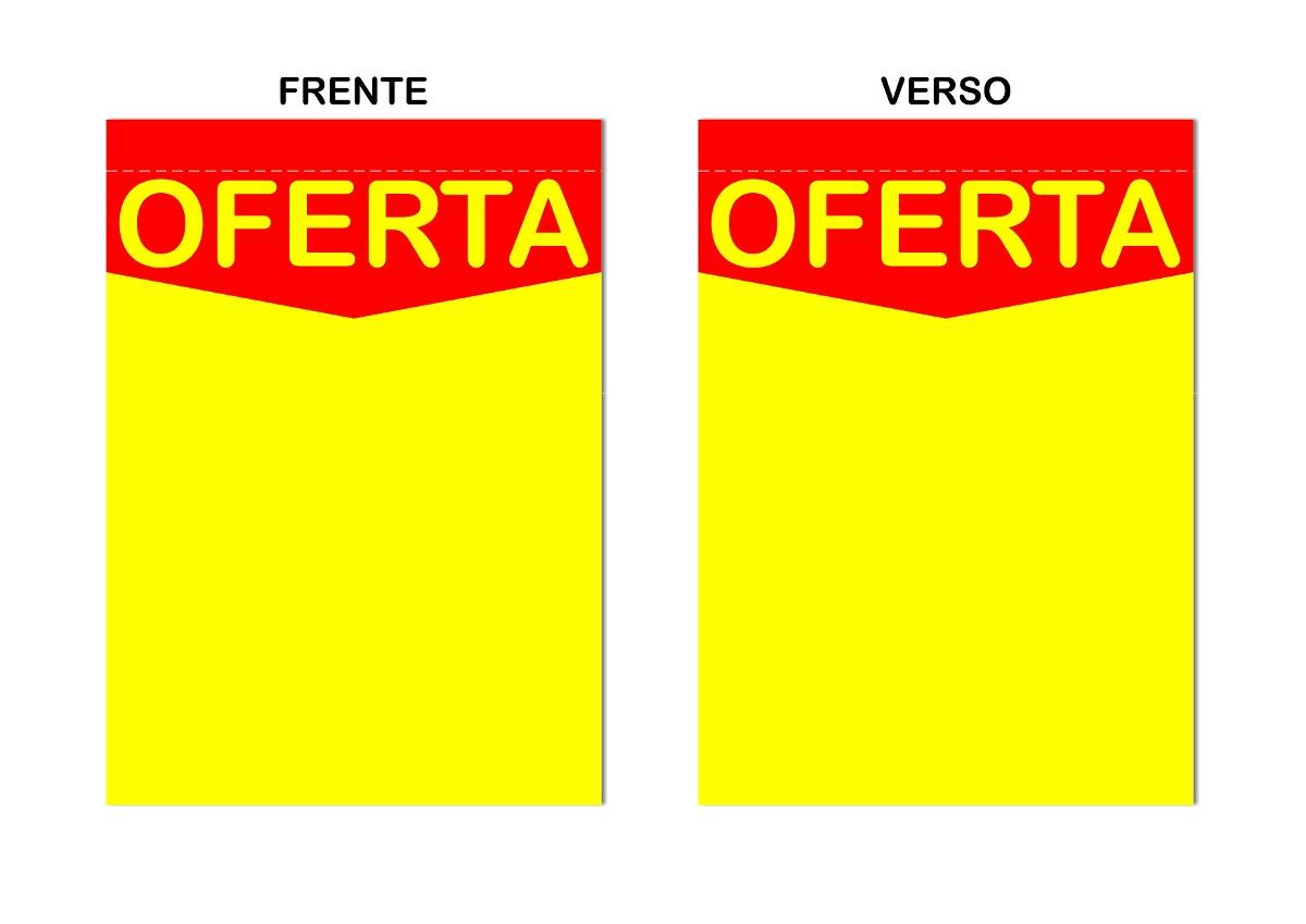 Cartaz oferta promo es supermercados 29x40cm 100 un r for Ofertas de tresillos