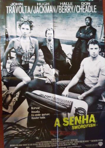 cartaz poster  do filme a senha