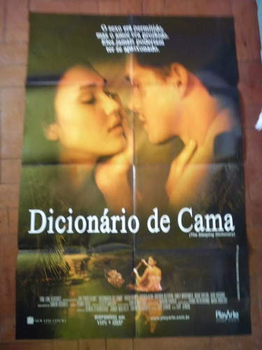 cartaz poster do filme dicionario de cama