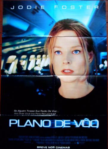 cartaz poster  do filme plano de vôo