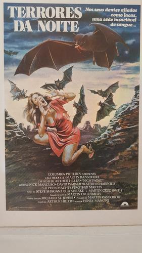 cartazete original filme terrores da noite  nightwing 1979