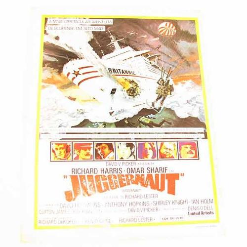cartazete publicitário do filme juggernaut