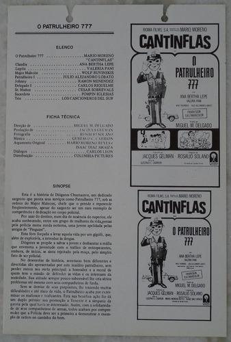 cartazete/sinopse  o patrulheiro 777 leia descrição
