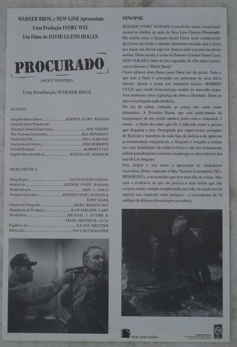 cartazete/sinopse  procurado leia descrição
