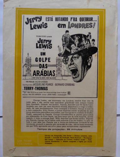 cartazete/sinopse  um golpe das arábias