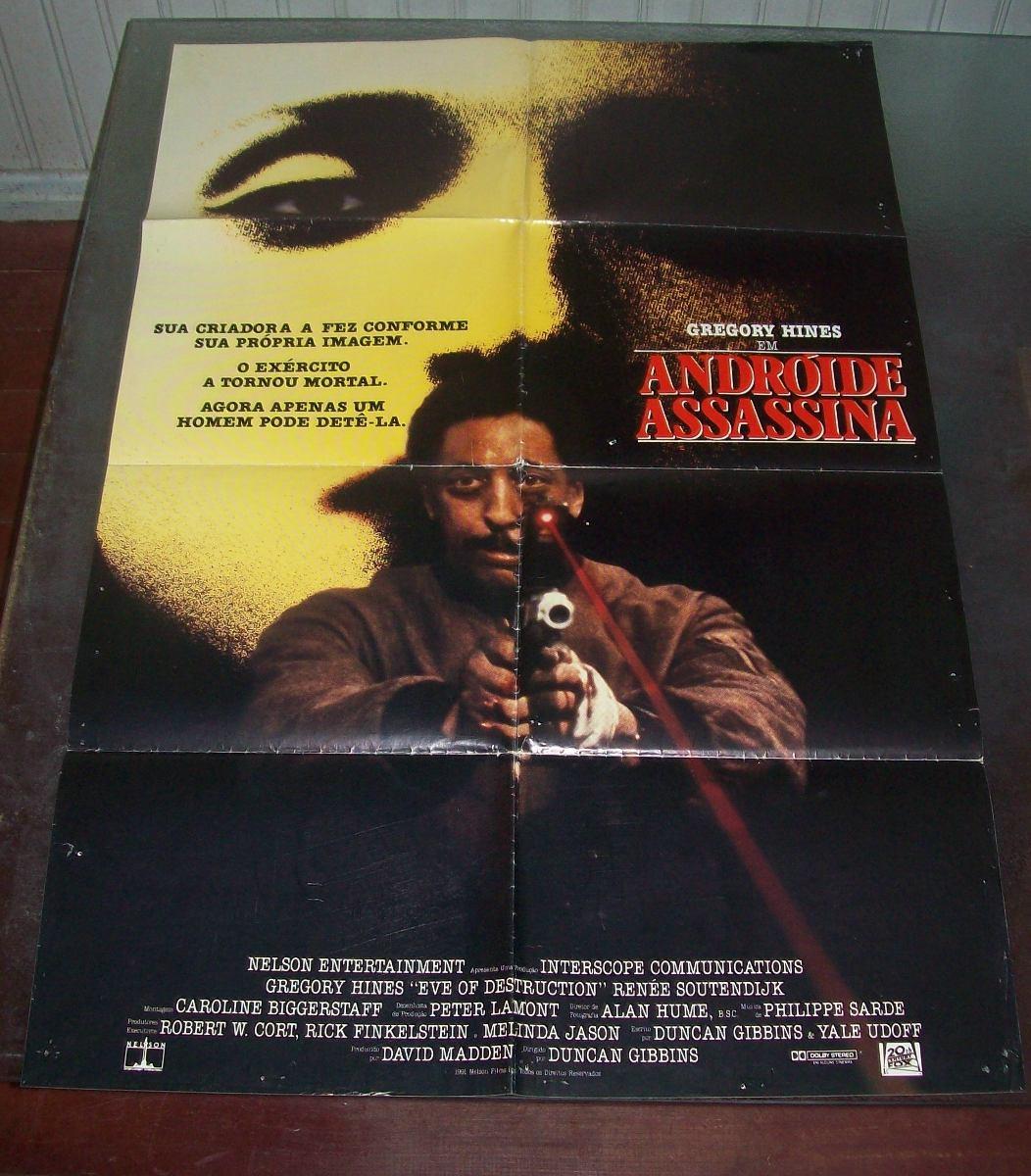 Cartaz/poster Cinema Filme Androide Assassina