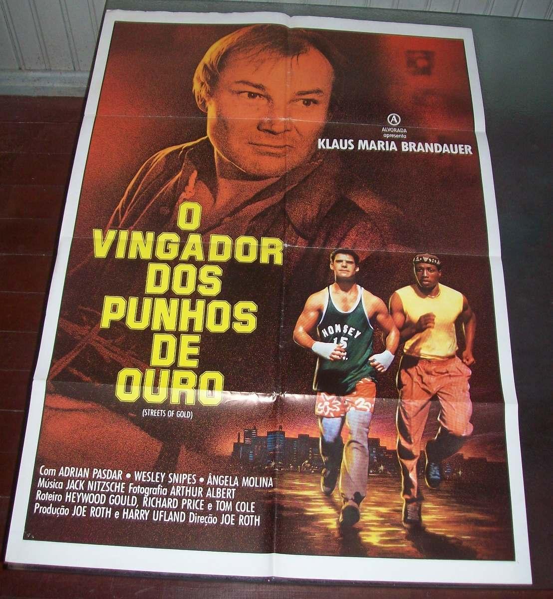 Cartaz/poster Cinema Filme O Vingador De Punhos De Ouro
