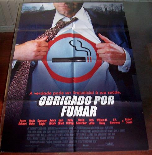 cartaz/poster cinema filme obrigado por fumar