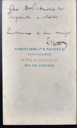 carte de visite-christiano júnior & pacheco - rio de janeiro