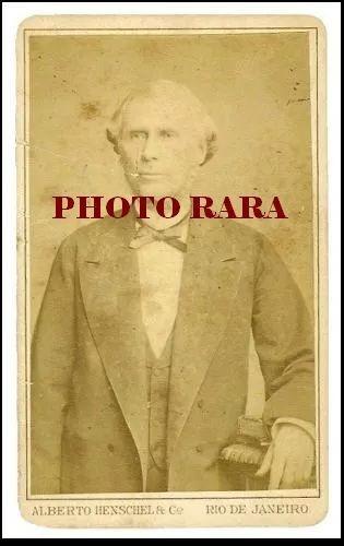 carte de visite original de sinimbú, senador do império.