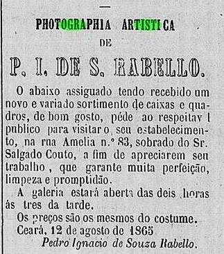 carte de visite - photographia artística - ceará - séc. xix