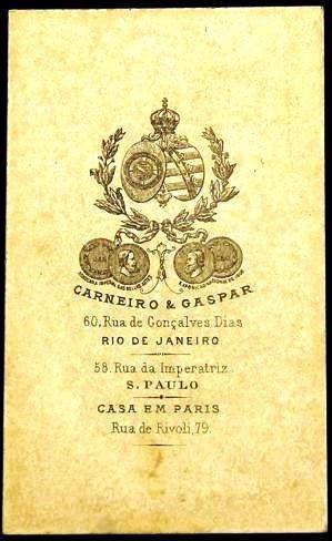 carte visite- vigário cardoso de melo-fot. carneiro & gaspar