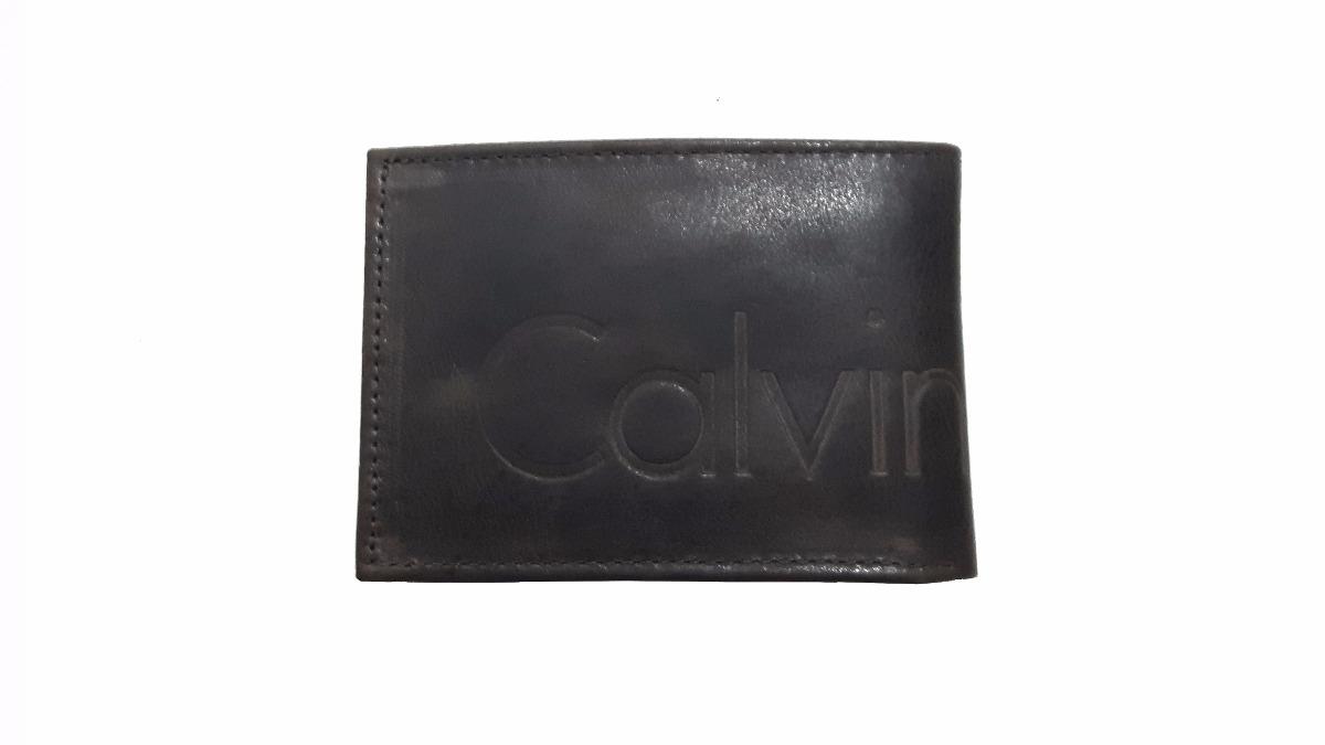 6844fdb0139fd carteira calvin klein ck masculina 100% couro legítimo c03. Carregando zoom.