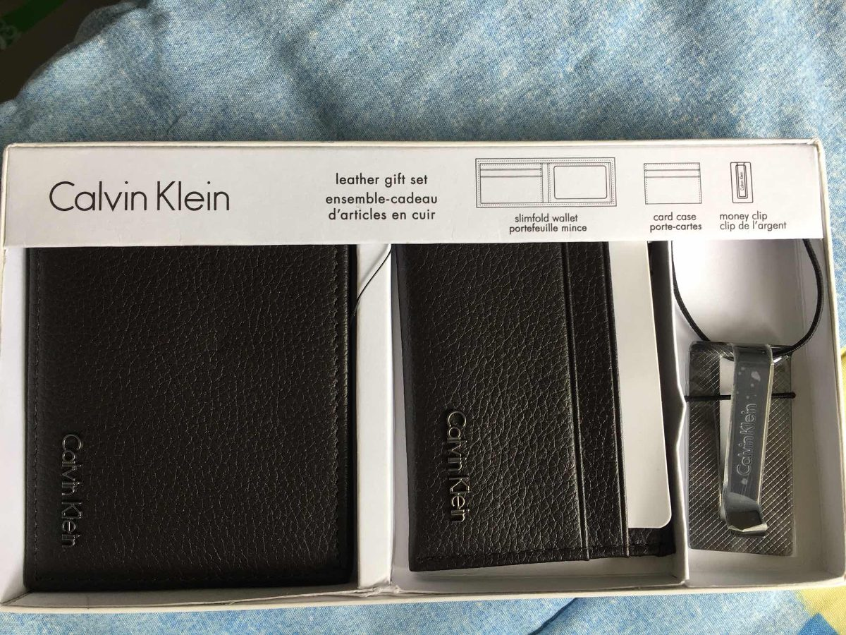 Carteira Calvin Klein - Kit Completo - R  210,00 em Mercado Livre 524660fbba