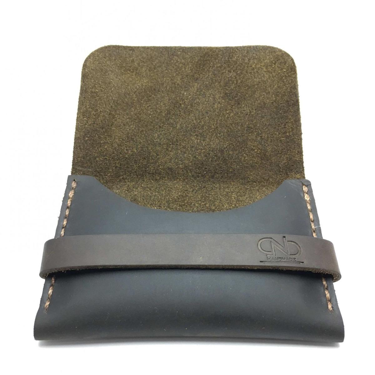 5cd4dbe99 carteira cnb single couro legítimo feito à mão exclusivo top. Carregando  zoom.