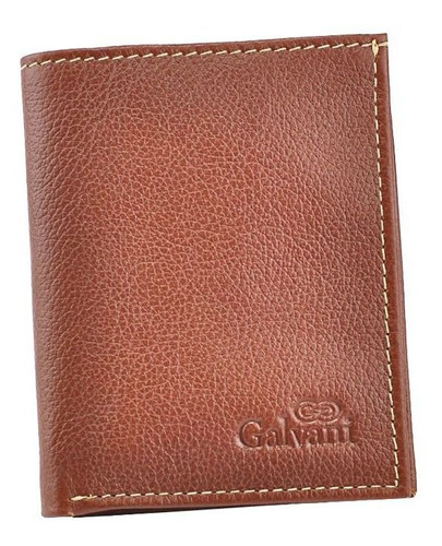 carteira cnh em couro legítimo 1028 * galvani *
