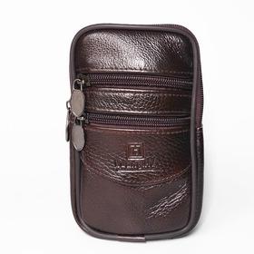 Carteira De Cintura Bolsa Couro Com Zipers Motoqueiro Pochete Pasta Carteiro Case Saco Segurança De Viagem Cinto Quadril
