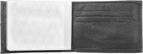 carteira de couro legítimo masculina tradicional