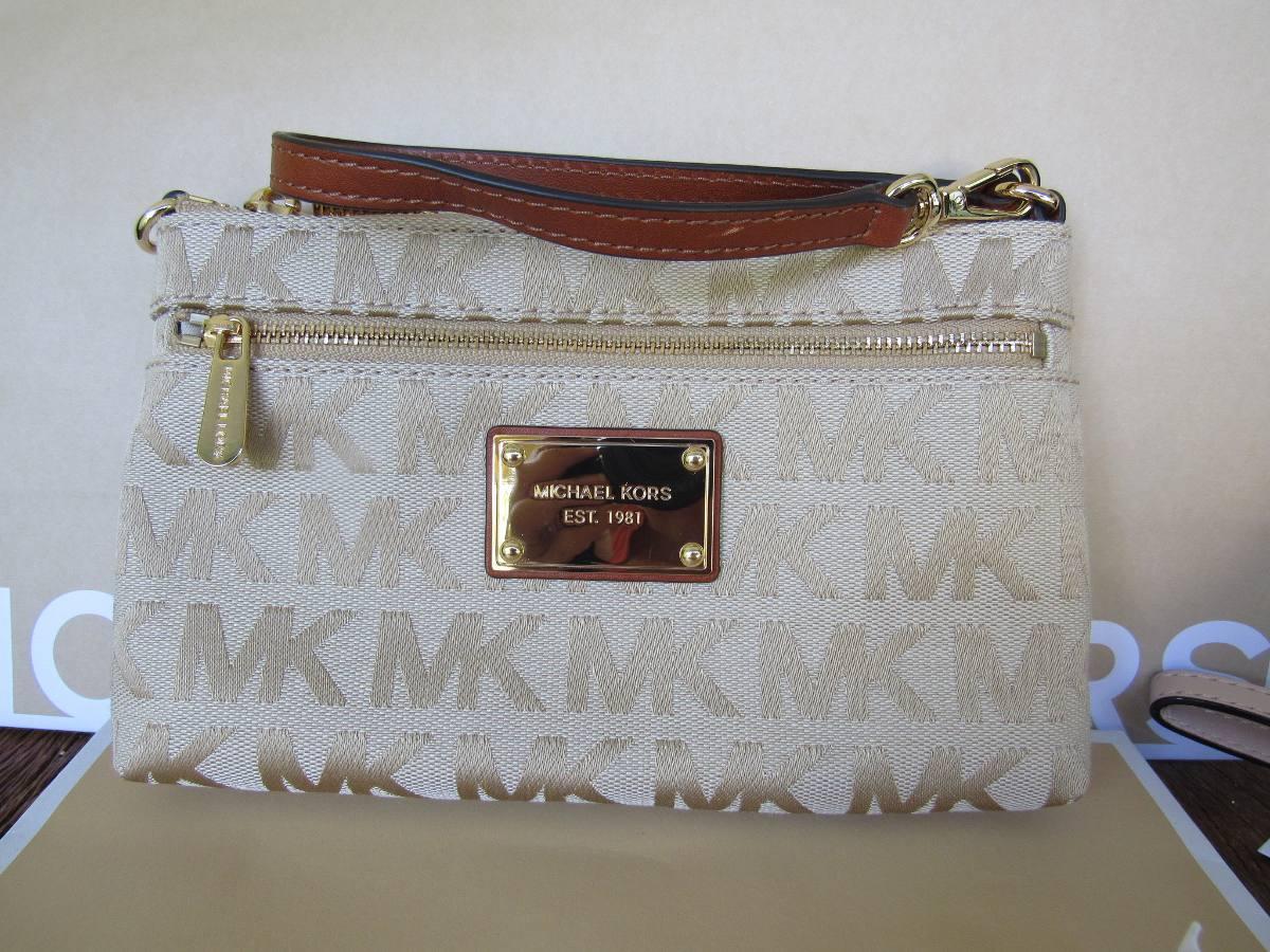 174097577 Carteira De Mão Com Alça Michael Kors 100% Original - R$ 339,00 em ...