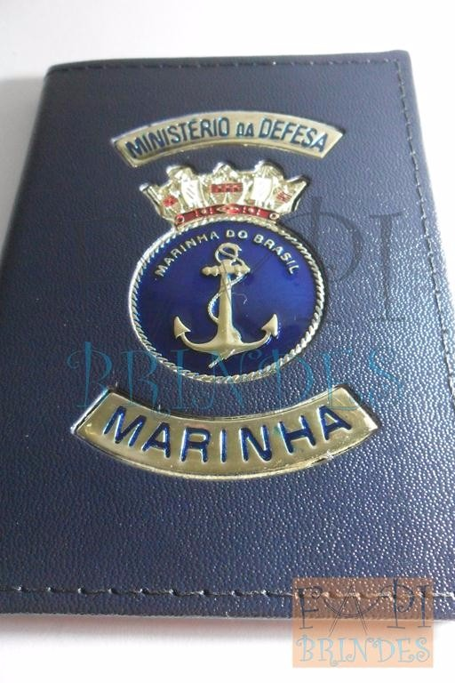 431bad19aa737 Carteira Distintivo Logotipo Marinha Ministério Defesa P86a - R  99 ...
