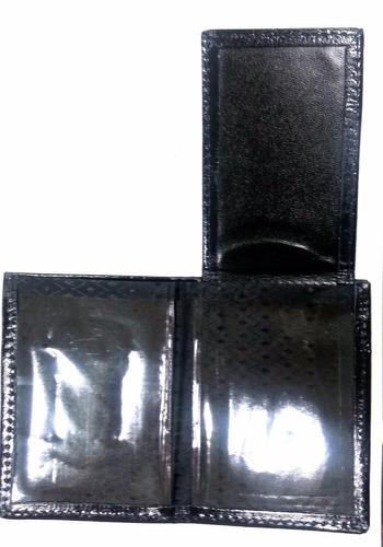 carteira em couro pastor evangélico + bóton + frete grátis