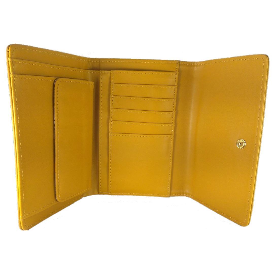 e24cd8d7f Carteira Feminina Amarela - Veryrio - R$ 59,40 em Mercado Livre