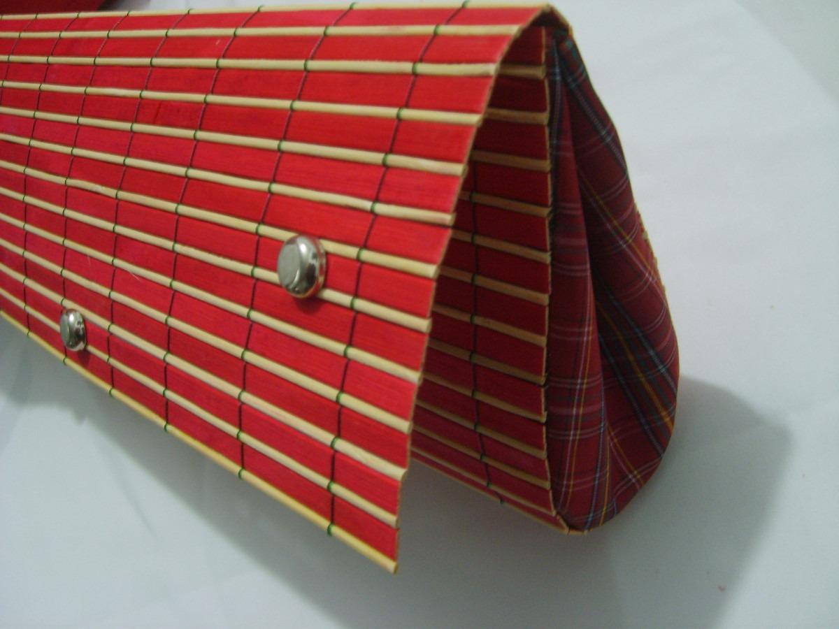 Bolsa E Carteira Feminina : Bolsa carteira feminina em bamb? com forro tecido