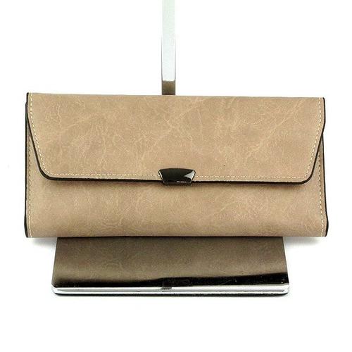 carteira feminina couro sintetico pequena barata bolsa