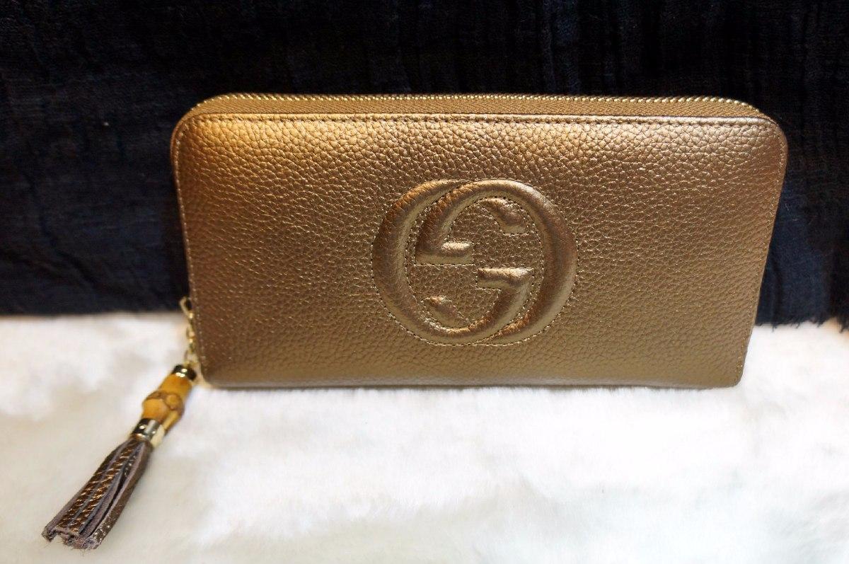 e6372c39f Carteira Gucci Bamboo - R$ 450,00 em Mercado Livre