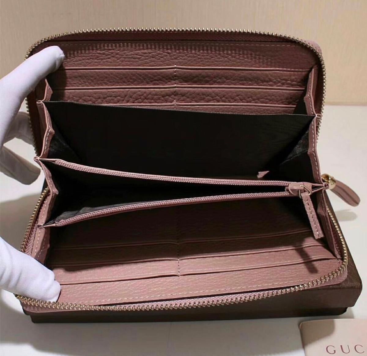 6df70350a carteira gucci gg feminina couro legítimo - frete grátis. Carregando zoom.