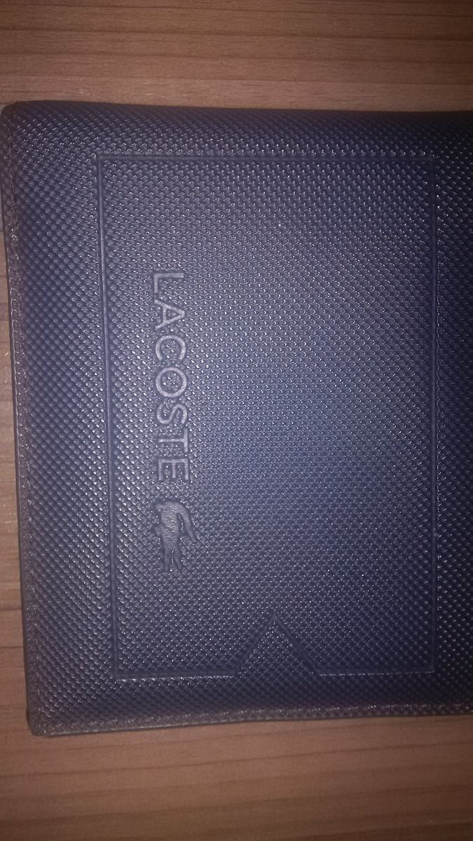 Carteira Lacoste (couro) Novinha - R  240,00 em Mercado Livre 02c4fa6111