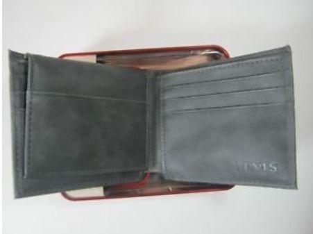 carteira levi's billfold rfid protection original