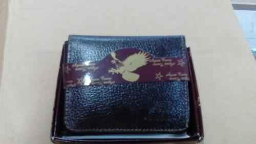 carteira masculina 100% couro