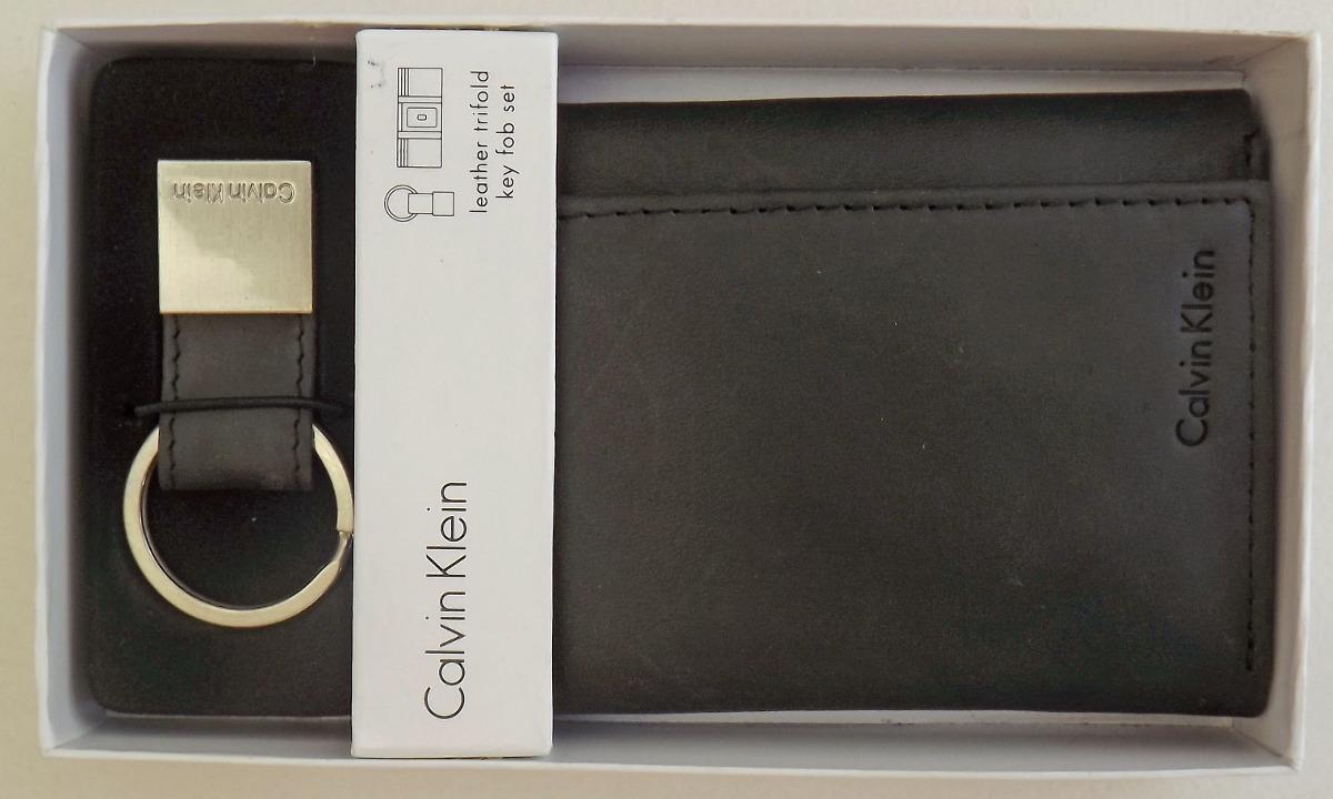 24be21aa66c4c carteira masculina calvin klein couro original com chaveiro. Carregando  zoom.