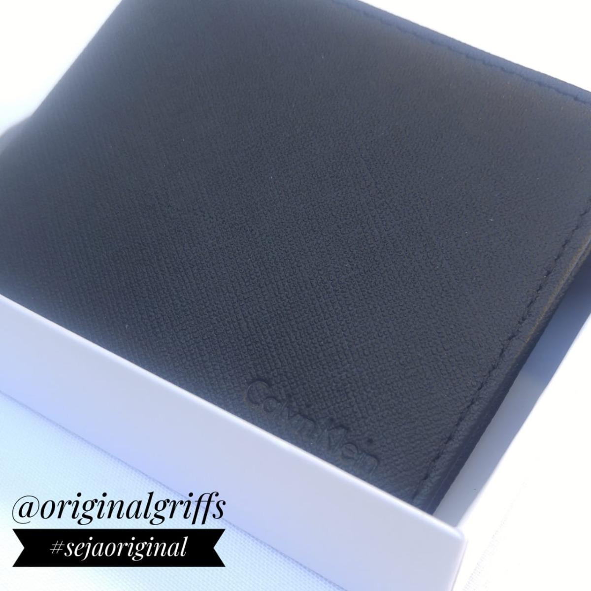 carteira masculina ck 100% couro original usa frete grátis. Carregando zoom. 37bb842fbd